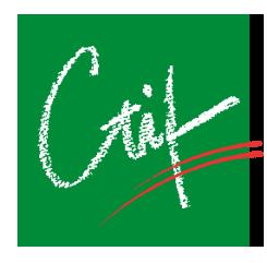 Réseau CTI logo CTIF