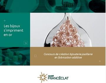 Franceclat : concours les bijoux s'impriment en or!